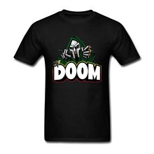 New 2017 Hot Summer Casual T-Shirt Printing Cotton Shirts Cheap Wholesale  Men's Portfolio Mf Doom Icon T-Shirt