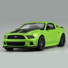 1:24 Need for Speed 2014 Mustang GT Alloy Models Free Shipping Metal Car For Collection Car Lovers Diecast Nice Mustang Models