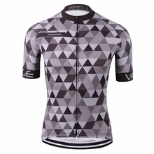VAGGESPORT breathable dye sublimated bike cycling clothing/classic pro tour tight cycling top/mountain grey pro bike t-shirt(China)