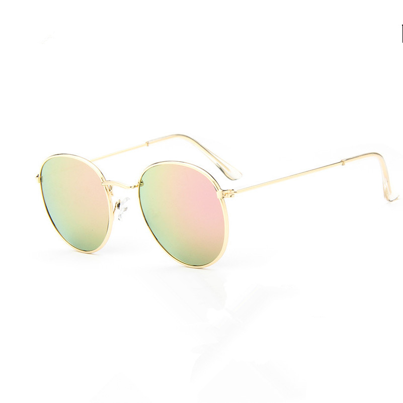 Vintage Round Sunglasses Women men female brand Metal Frames Mirror Lenses Sun Glasses For women retro Male<br><br>Aliexpress