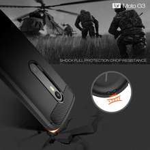 Phone Cover Case For Motorola Moto G3 G+3 XT1540 XT1541 XT1542 XT1543 G 3rd Gen G (Gen 3) case Carbon Fibre Brushed TPU Silicone