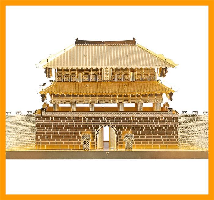 3д пазлы из металла дворец Южные ворота