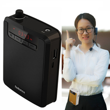 Portable Voice Amplifier Studio Conference Speech Speaker with Microphone Loudspeaker Teacher/Tour Guide Charger power supply