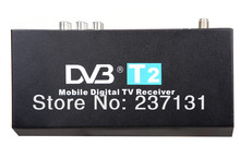 HDMI Russian Car DVB-T2 Tuners Mobile Digital DVB-T2 TV Receiver for Russia Thailand H.264 MPEG4 1080P CVBS