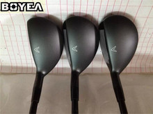 "Brand New Boyea X-2 Hybrids HOT Golf Hybrids Golf Clubs 19""/22""/25"" Degree R/S-Flex Graphite Shaft Come With Head Cover"