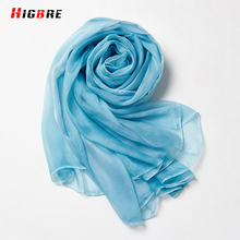Spring Summer Soft Long Neck Large Scarf Wrap Womans Fashion Oversized Chiffon Scarves Wraps Thin Shawl 195*145cm Foulard Femme