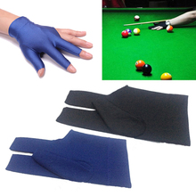 Liplasting New Snooker Glove Outdoor Indoor Sport Billiard Cue Glove Pool Left Hand Open Three Finger Accessory free shipping(China)