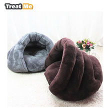 Small Dog Mat Discount Pet supplies Sofa Puppy Cushion Pet Dog Bed Blanket Practical Soft Warm Puppy House Cat Bed bolso perro(China)