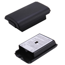 Best Promotion 2pcs/lot Black Battery Compartment Pack Cover Shell Case Replacement Kit For Xbox 360 Controller Joystick(China)