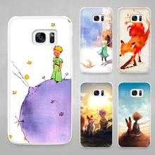 The Little Prince and the fox Hard White Coque Shell Case Cover Phone Cases for Samsung Galaxy S4 S5 S6 S7 Edge Plus(China)