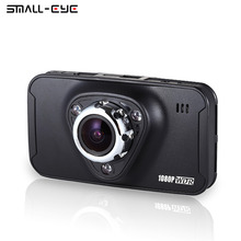 Small-eye Car DVR Camera Dashboard Video Recorder Dash Cam Vehicle Camcorder Full HD Novatek 96650 170 Wide Angle Night Vision(China)