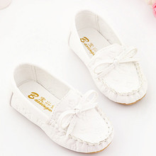 Party Princess Fashion Summer PU Leater First Walkers Pink White Yellow Dichotomanthes baby shoes sapatos infantil menina menino(China)
