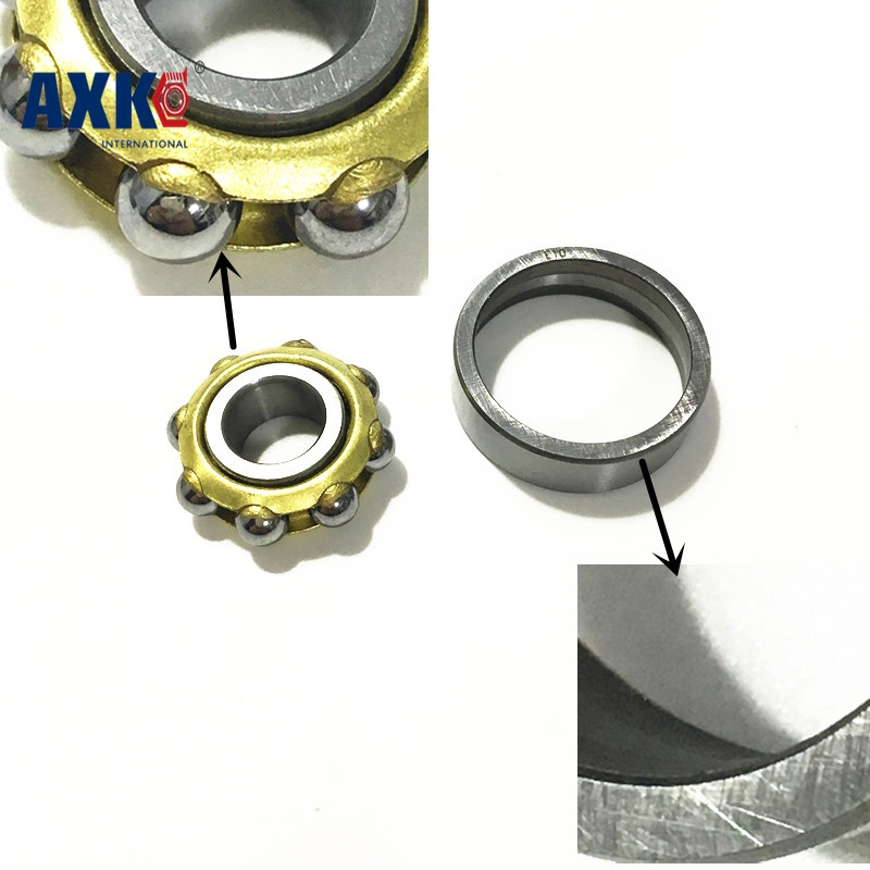 Free shipping M30 magneto angular contact ball bearing 30x72x19mm separate permanent magnet motor bearing<br>