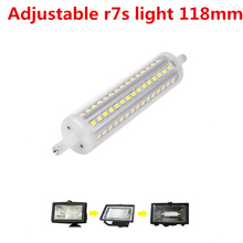 AIFENG  dimmable 1000lm  r7s led 118mm 118 j118 lamp 10w tube Replace Halogen Light corn 2835 smd  led 2017 Transparent cover