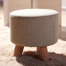 Furniture,Real wood the small low stool,The stool,Creative tea table stool