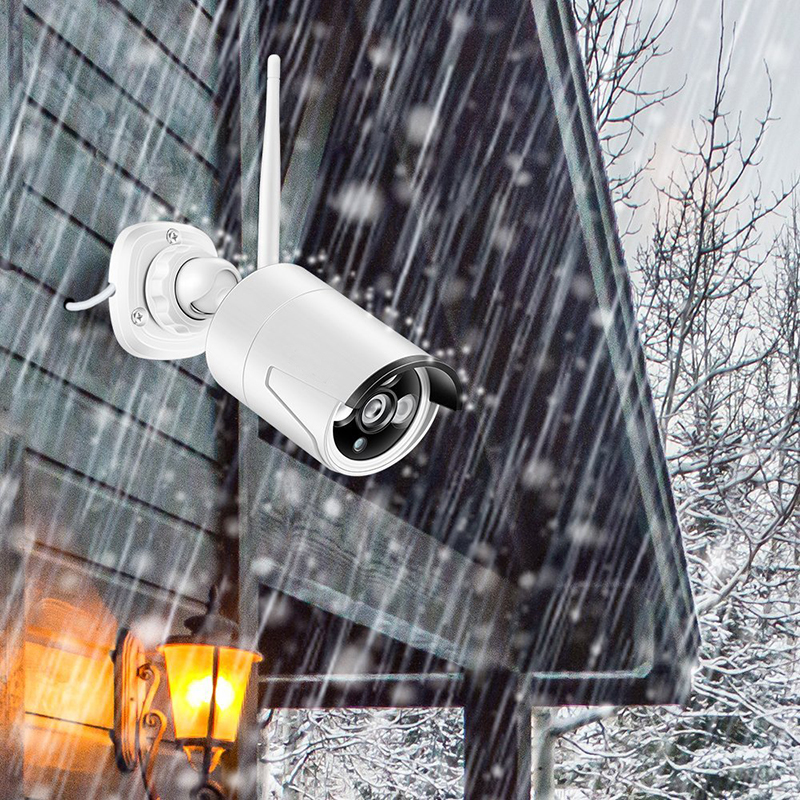 8ch wifi security camera kit