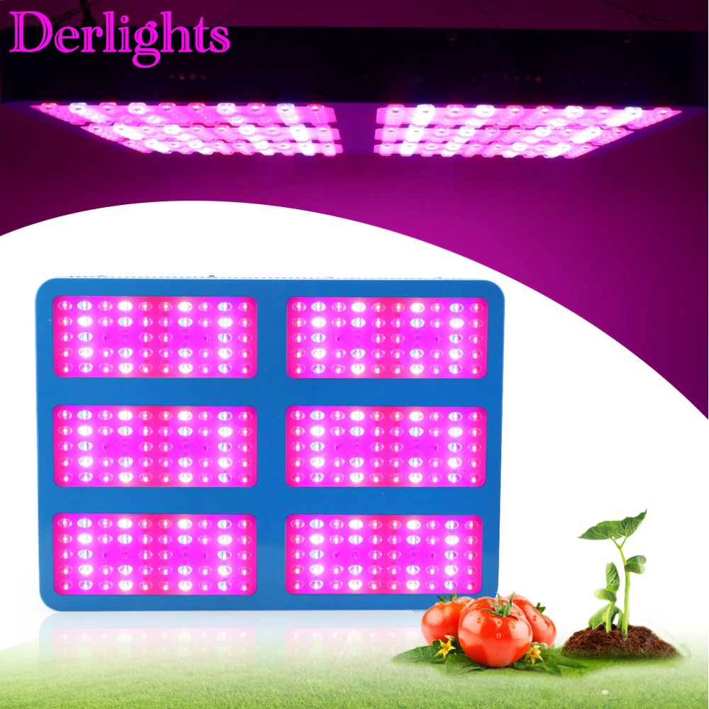 Newest 120W LED Grow Light 1365SMD RED+BLUE Garden Supply Lamp Hydro PlantFlower