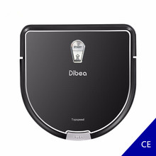 Dibea Robot Vacuum Cleaner Smart D960 With Wet Mopping Robot Aspirador Edge Cleaning Technology for Pet Hair Thin Carpets(China)