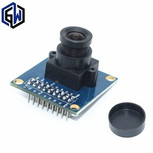 10pcs OV7670 camera module Supports VGA CIF auto exposure control display active size 640X480