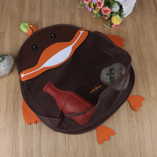 Cartoon Duck Baby Toy Mesh Storage Bag Bath Bathtub Doll Organizer Bathroom Hanging Storage Bag Child Bath Net Bag