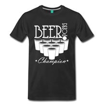 BEER PONG CHAMP Men's T-Shirt 2017 New T-Shirt Men Short Sleeve Tshirt Tricolor Mens Tops Cool O Neck T Shirt