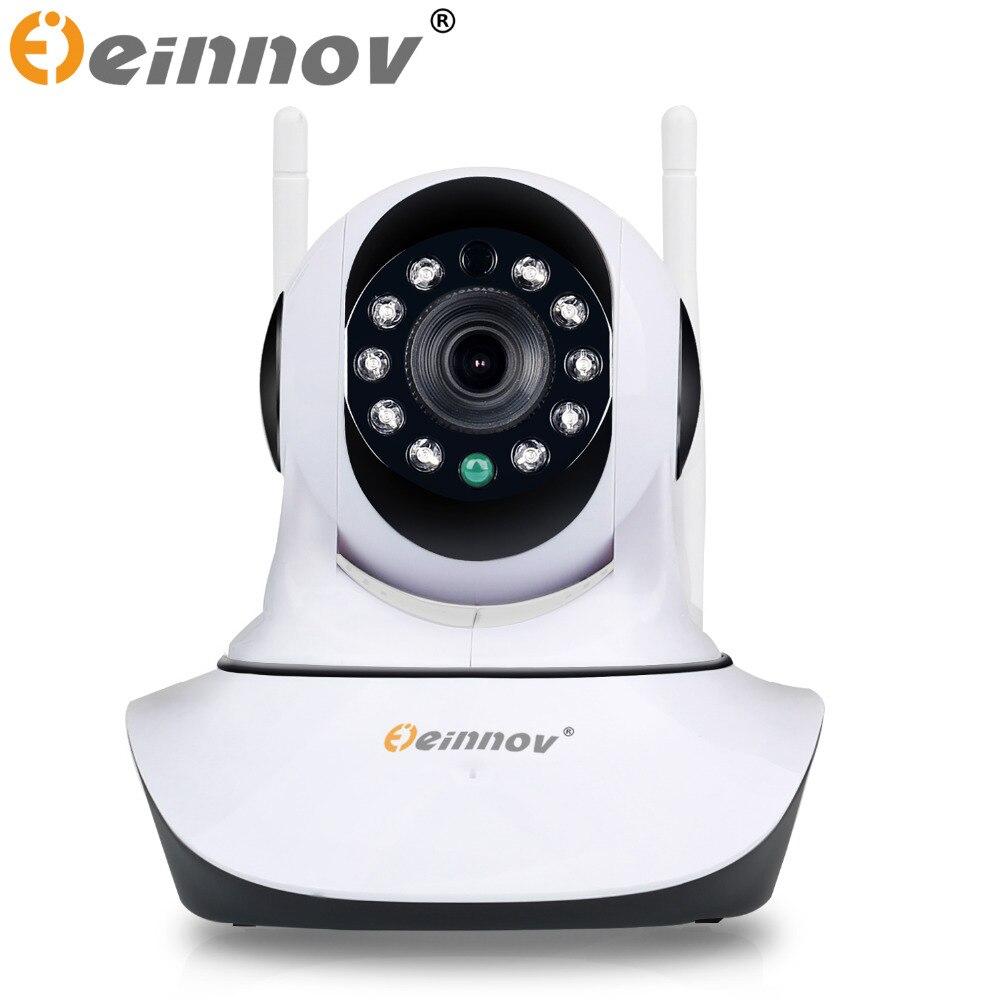 EINNOV Home Security IP Camera Wireless Mini IP Camera Surveillance CCTV Dome Cameras Wifi 1080P Night Vision IR Baby Monitor   <br>