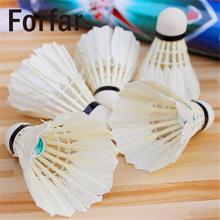 Forfar 5pcs Training Colorful Plastic Shuttlecocks Badminton Ball Game Sport Heath Women Man Outdoor
