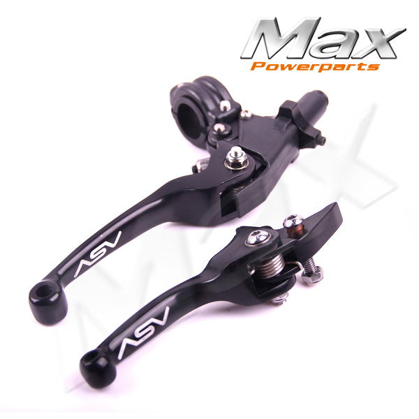 Aluminum ASV F3 Series 2ND Clutch &amp; Brake Folding Lever Fit Most Motorcycle ATV Dirt Pit Bike WR KLX CRF YZF RMZ Free Shipping<br><br>Aliexpress