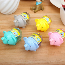 (24 Pieces/Lot) Funny Gadgets Manual Sharpener Pencil New Arrival Cute Stationery Cute Elephant Pencil Sharpener afila lapices