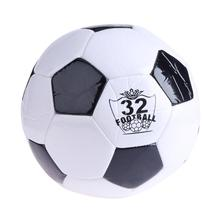 NO.4 Soft Classic Black White Standard Size Soccer Ball Outdoor Sport Training Balls 200mm Football Germany Spain Football(China)