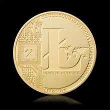 Buy Gold Plated LTC Litecoin Replica Art Collection Gift Non-currency Copy Coins Collectibles Coins Vires Numeris Medallion for $1.18 in AliExpress store