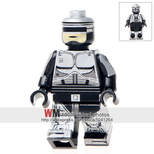 Single Sale WM306 Robocop Custom Made Mini Dolls Ghost Of Sparta Kratos Ultimate Building Blocks Children Gifts Toys