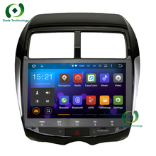 2 din Quad core Android 5.1.1 Car multimdia DVD GPS Radio for Mitsubishi ASX 2010 2011 2012 2013 2014 2015 car aduio wifi 3G RDS