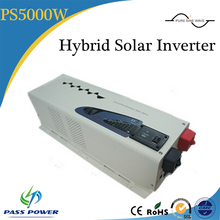 CE RoHS Approved ,UPS fuction low frequency hybrid solar inverter 5000w with charger