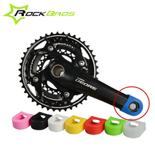 ROCKBROS Crankset Crank Protective Sleeve Protector Mountain Bike Road Bike Fixed Gear Bicycle Crank Protective Cover 1pair(China)