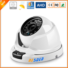 BESDER Wide Angle 2.8MM Anti Vandal AHD CCTV Camera AHDM 1/3'' SONY IMX225 2500TVL Security AHD Camera 960P OSD Cable(China)
