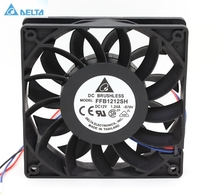 Delta FFB1212SH 12025 12cm 120mm DC 12V 1.24A 3-pin server inverter case axial cooler industrial fans(China)