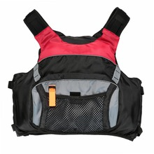 Professional Flotation Adult Safety Life Jacket Survival Vest Swimming Kayaking Boating Drifting with Emergency Whistle Safety