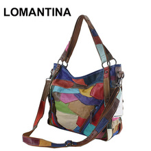 Women Shoulder Bags Luxury Casual Genuine Leather Bags Big Women Leather Handbags High Quality Female Tote(China)