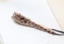 Metting Joura Ethnic Bohemia Crystal Rhinestone Beads Knitter Braided Headband Wedding Bride Bridal Flower Hair Jewelry