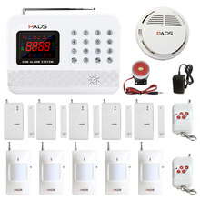 G61 Super Kit Configuration Kitchen Fire Alarm System Auto Dial And SMS Easy Operation Home Security Burglar GSM Alarm System(China)