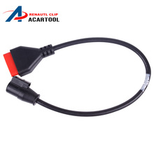 For Renault Can Clip OBD 16Pin Main Cable OBD Cable for Can Clip Diagnostic Scanner free shipping(China)