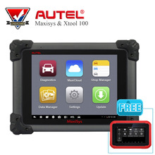 Original AUTEL MaxiSys MS908 Car Diagnostic Scanner Tool Free Update Online  with XTOOL X100 PAD auto key programmer Auto Tools