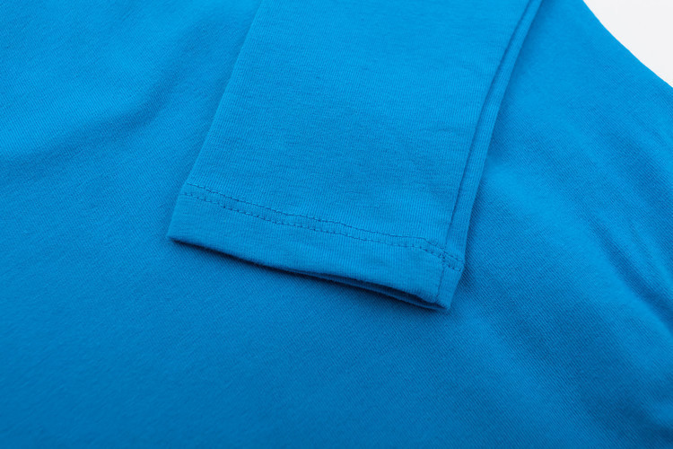 Long sleeved Spandex cotton girls gymnastics leotard (2)