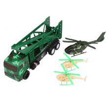 52201 Military Equipment Car Plane Models Mini Children\'s Toys Vehicle Kids Educational Diecast Toys for Gift