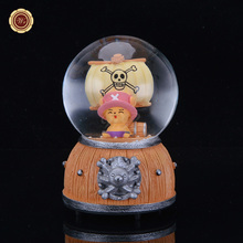 WR Hot Selling Creative Rotary Snow Glass Crystal Ball Music Box Send Boyfriend and Girlfriends Creative Birthday Gifts
