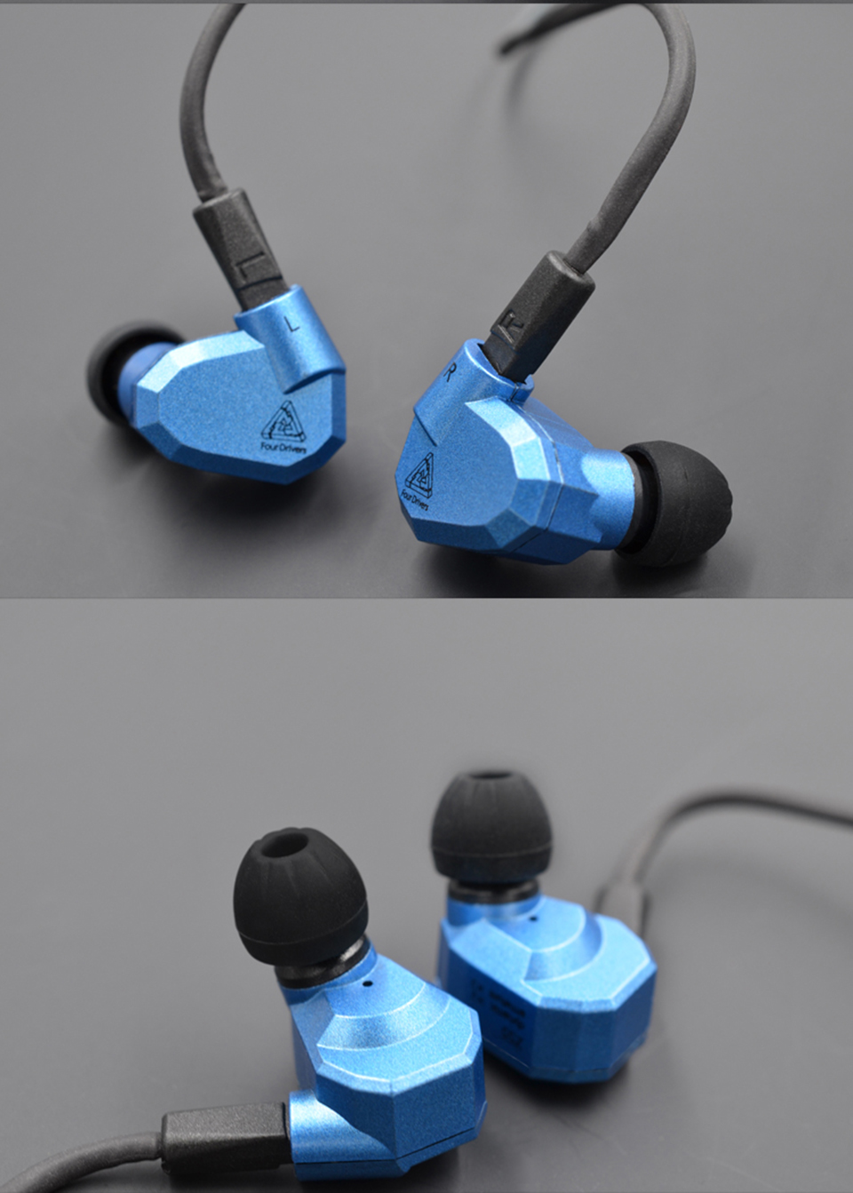 KZ Original ZS5 In Ear Earphone Headphones 3.5mm HIFI Running Sport Bass Fone De Ouvido with Micphone Earbud for Phone Xiaomi