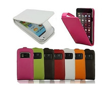 N8 Genuine  Flip Leather Cover Luxury Pouch Case For Nokia N8 Cover Case