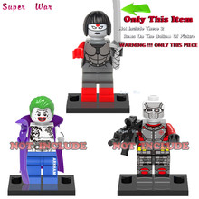 50pcs starwars super heroes marvel Suicide Squad Katana building blocks action  bricks toy hobby interesting toys for kids