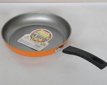 26cm Big Size Non-sticky Frying Pan Stainless Steel No Smoke Induction Use Frying Pan Free Shipping